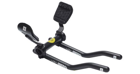 Profile Design V2+ triathlon stuur aluminium incl. ZB Flip-up Bracket + F35tt armsteun zwart